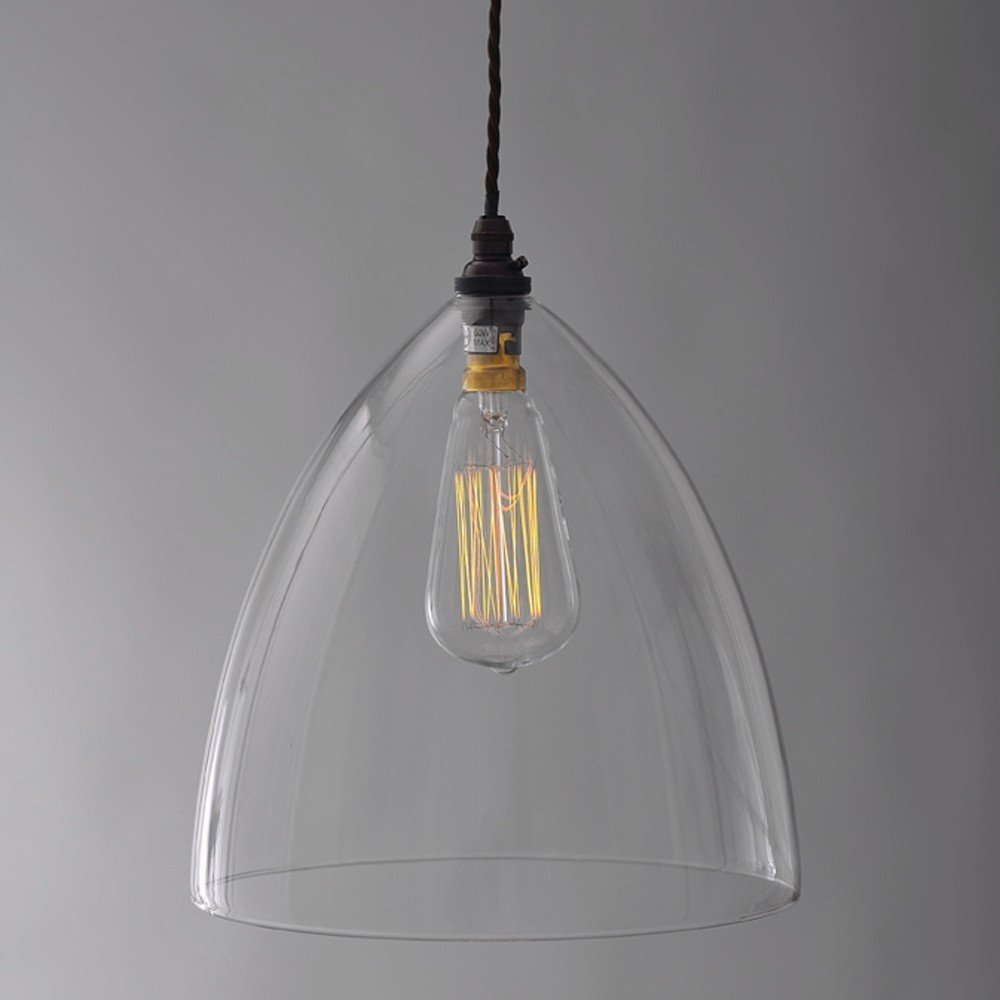 The ledbury glass pendant the fritz fryer collection for Modern island pendant lighting