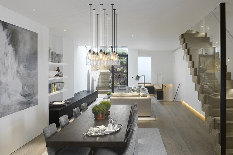 Where to start with lighting design fritz fryer for Dining room lighting ideas uk