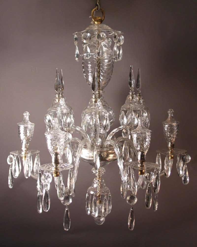 Antique crystal chandelier unique antique crystal chandelier - Unique crystal chandeliers ...