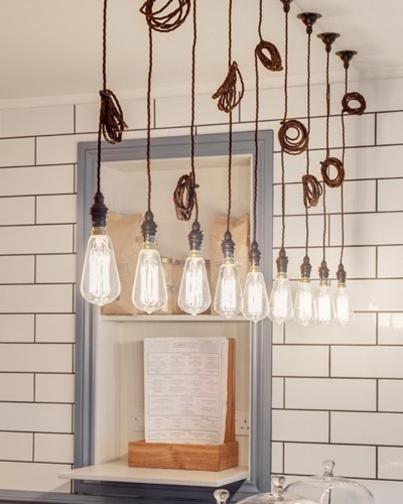 Twist Flex Pendant Light Set