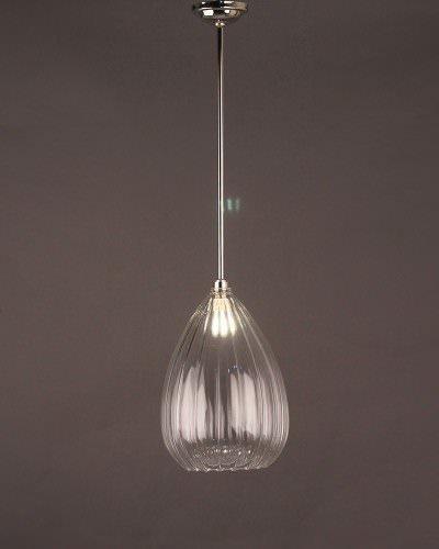 Designer Lighting Wellington Ribbed Glass Pendant